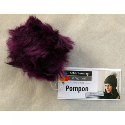 Pompon 32 purpurová