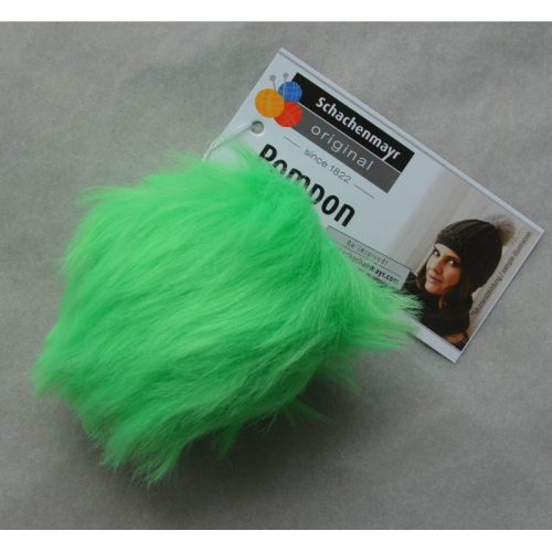 Pompon 70 neónová zelená