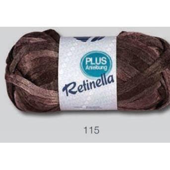 Retinella 115 hnedý melír