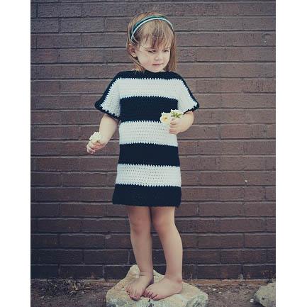 Tričkové pásikované šaty