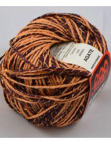Agate 1021 Marhuľová/čokoládová