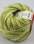 Agate 1023 Limetková zelená/prírodná biela