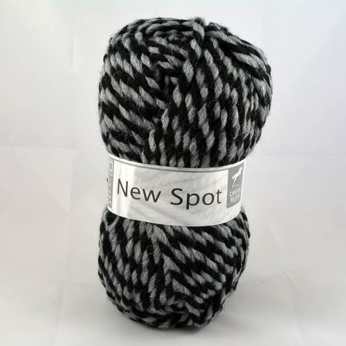 New Spot 114 čierna/sivá