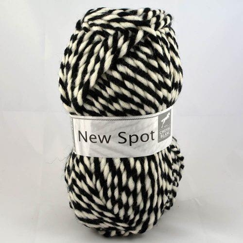 New Spot 115 biela/čierna