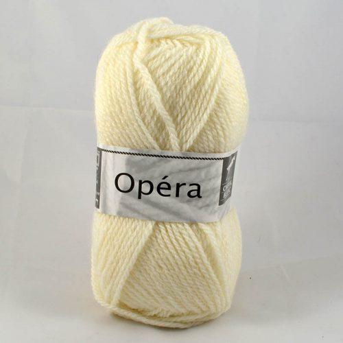 Opera 16 prírodná biela