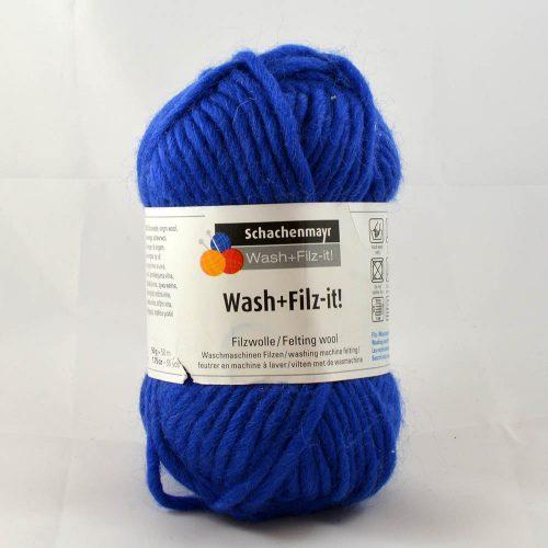 Wash filz it 13 kráľovská modrá