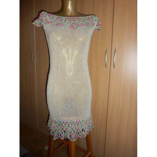 Šaty z priadze Silk