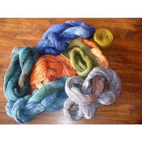 Silk farbený