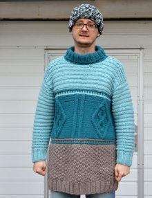 Pánsky pulóver Laponie