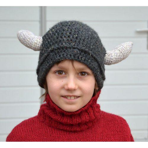 Vikingská čiapka Country tweed