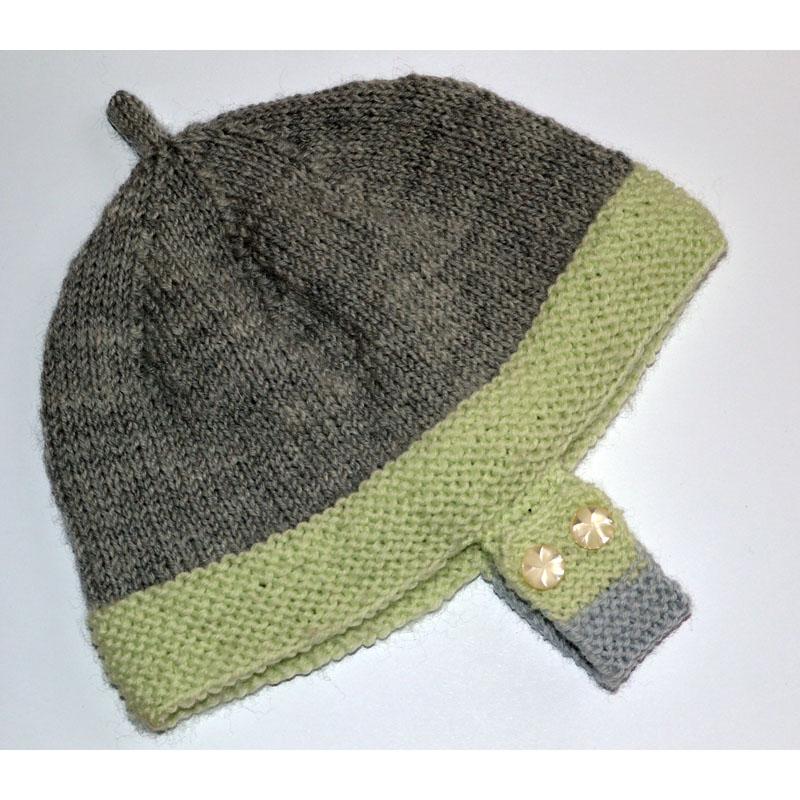 c624b729f Bábätkovská pletená čiapočka | Klbkovlny, vlna na pletenie