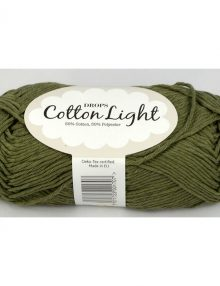 Cotton light 12 khaki zelená
