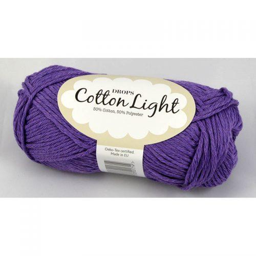 Cotton light 13 fialová