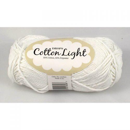 Cotton light 2 biela