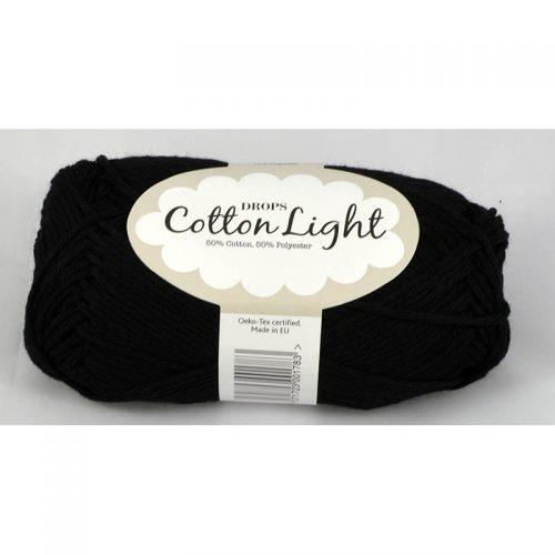 Cotton light 20 čierna