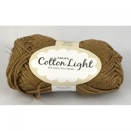 Cotton light 22 tmavá béžová