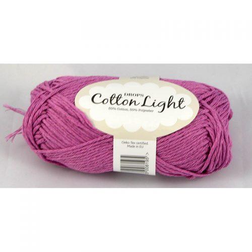 Cotton light 23 fialovoružová