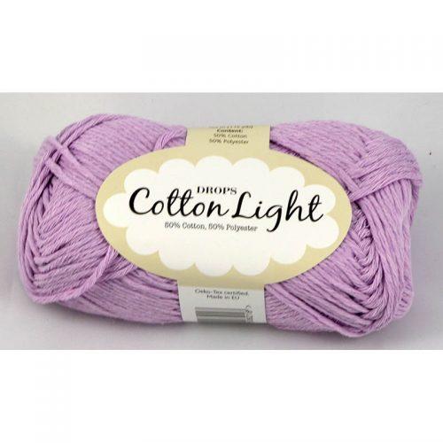 Cotton light 25 svetlá fialová