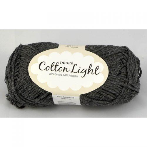 Cotton light 30 tmavá sivá
