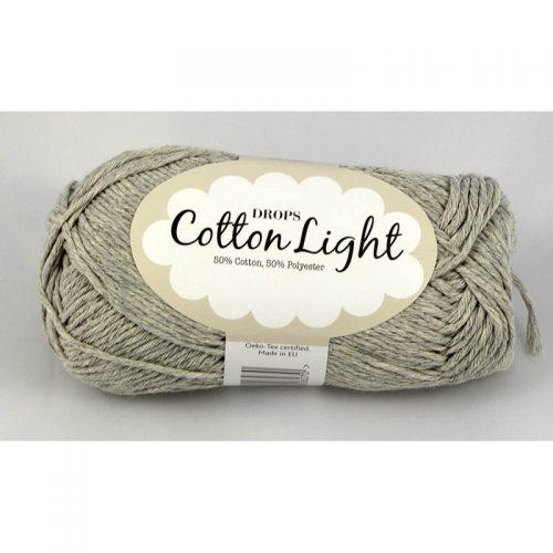 Cotton light 31 svetlá sivá