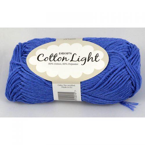 Cotton light 33 nevädzovo modrá