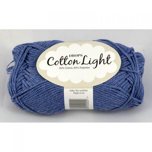 Cotton light 34 džínsová modrá