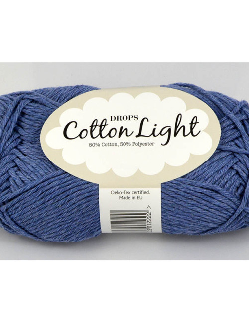 Cotton light 34 džínsová modrá