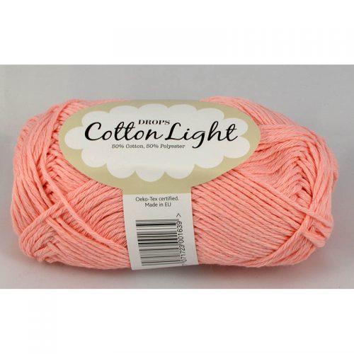 Cotton light 5 svetlá ružová