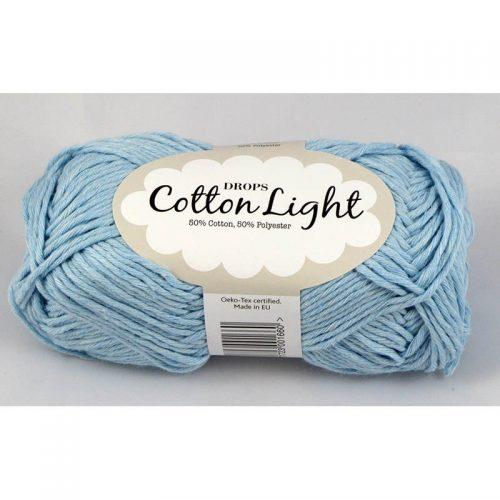 Cotton light 8 svetlá modrá