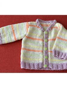 Jarný pásikavý svetrík pre bábätko