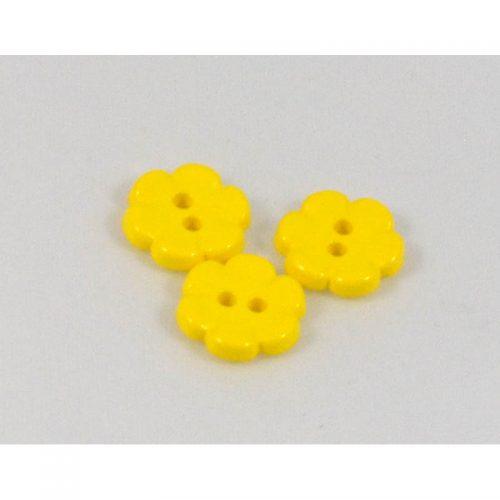Gombík kvietok žltý