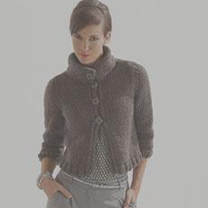 jesenné modely na pletenie