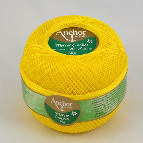 AA Mercer Crochet 20 290 slniečko