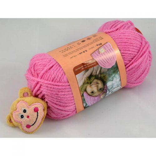 Little Sweeties 35 svetlá ružová+opica