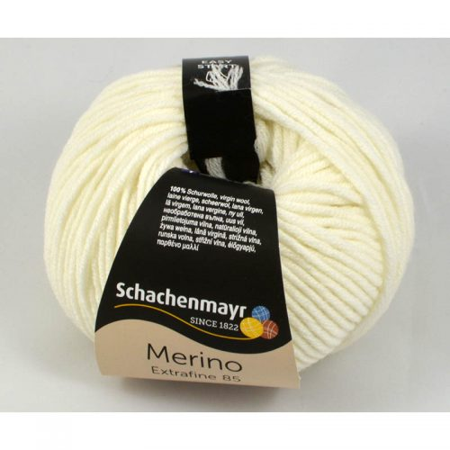Merino Extrafine 85 201 biela