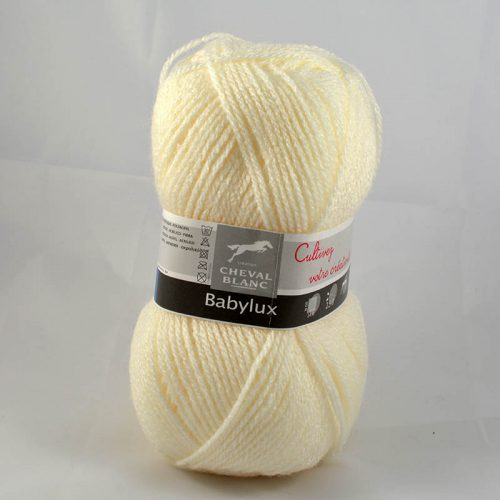 Baby Lux 16 prírodná biela