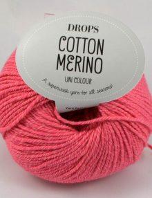 Cotton merino 13 krevetová ružováino 13