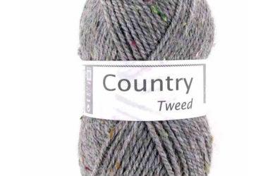 Country tweed 58 Flanelová siv