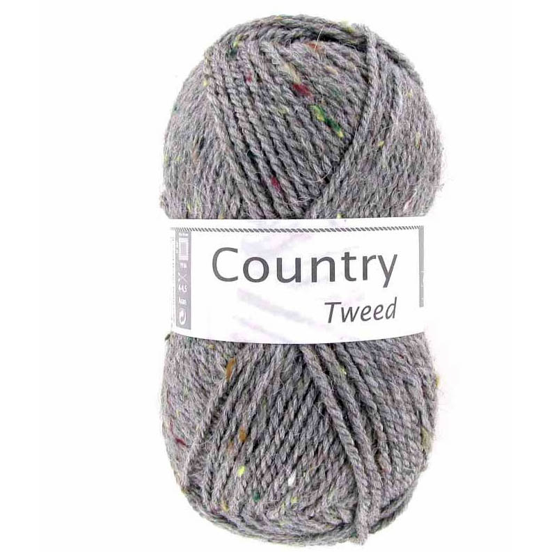 Country tweed 58 Flanelová siv