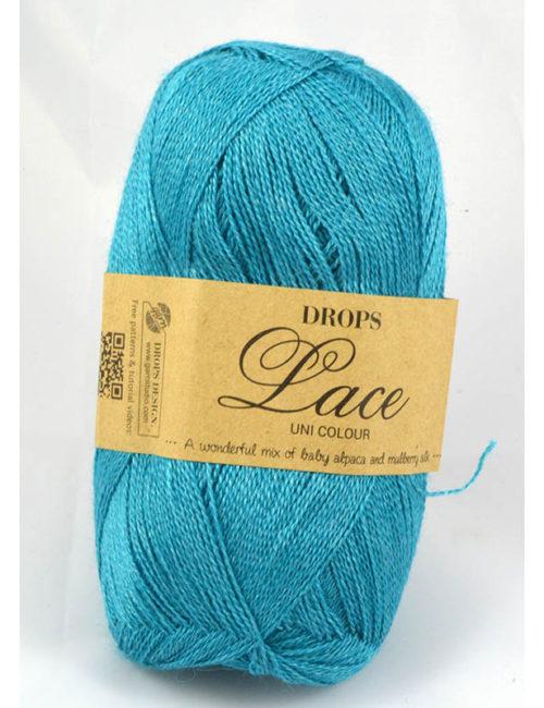 Drops Lace 6410 tyrkysová
