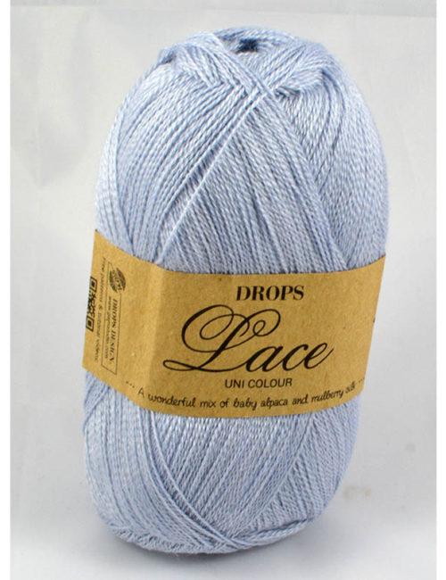 Drops Lace 8105 perlová sivá