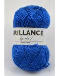 Brillance 8 modrá+lurex