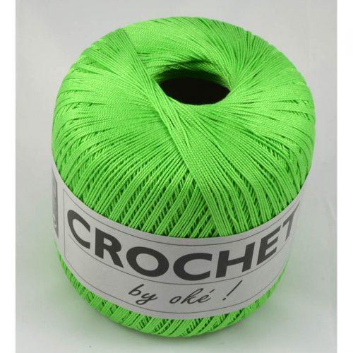 Crochet by OKE 162 jablková zelená