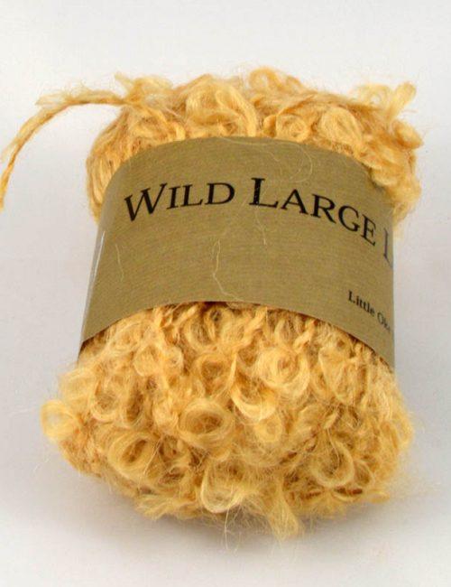 Wild Large loop mohair obilie