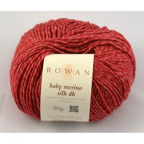 Baby merino silk dk 687 tehla