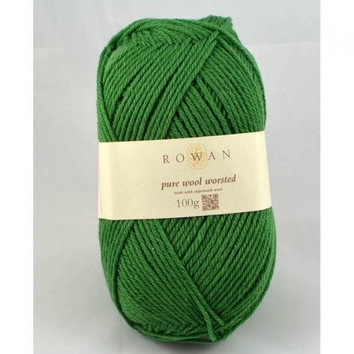 Pure Wool worsted 127 zelená