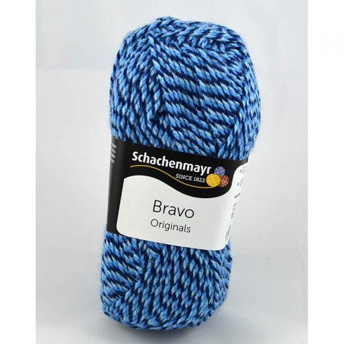 Bravo 8182 modrá muliné