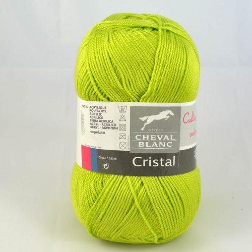 Cristal 251 zelené jablko