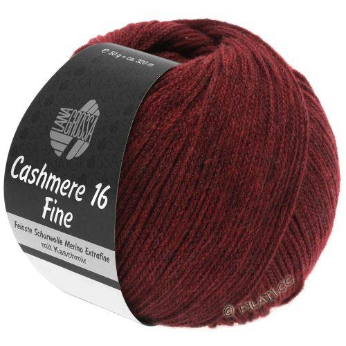 Cashmere 16 fine 11 bordová