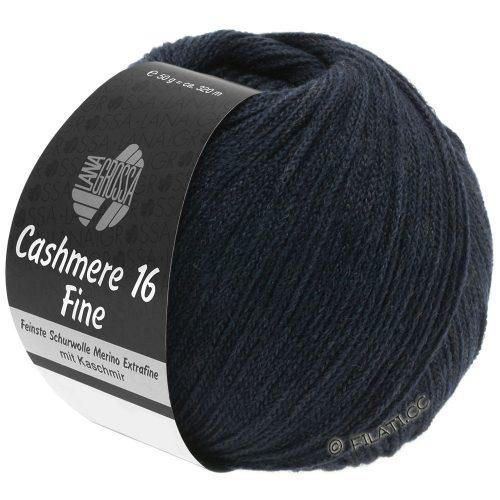 Cashmere 16 fine 12 tmavomodrá